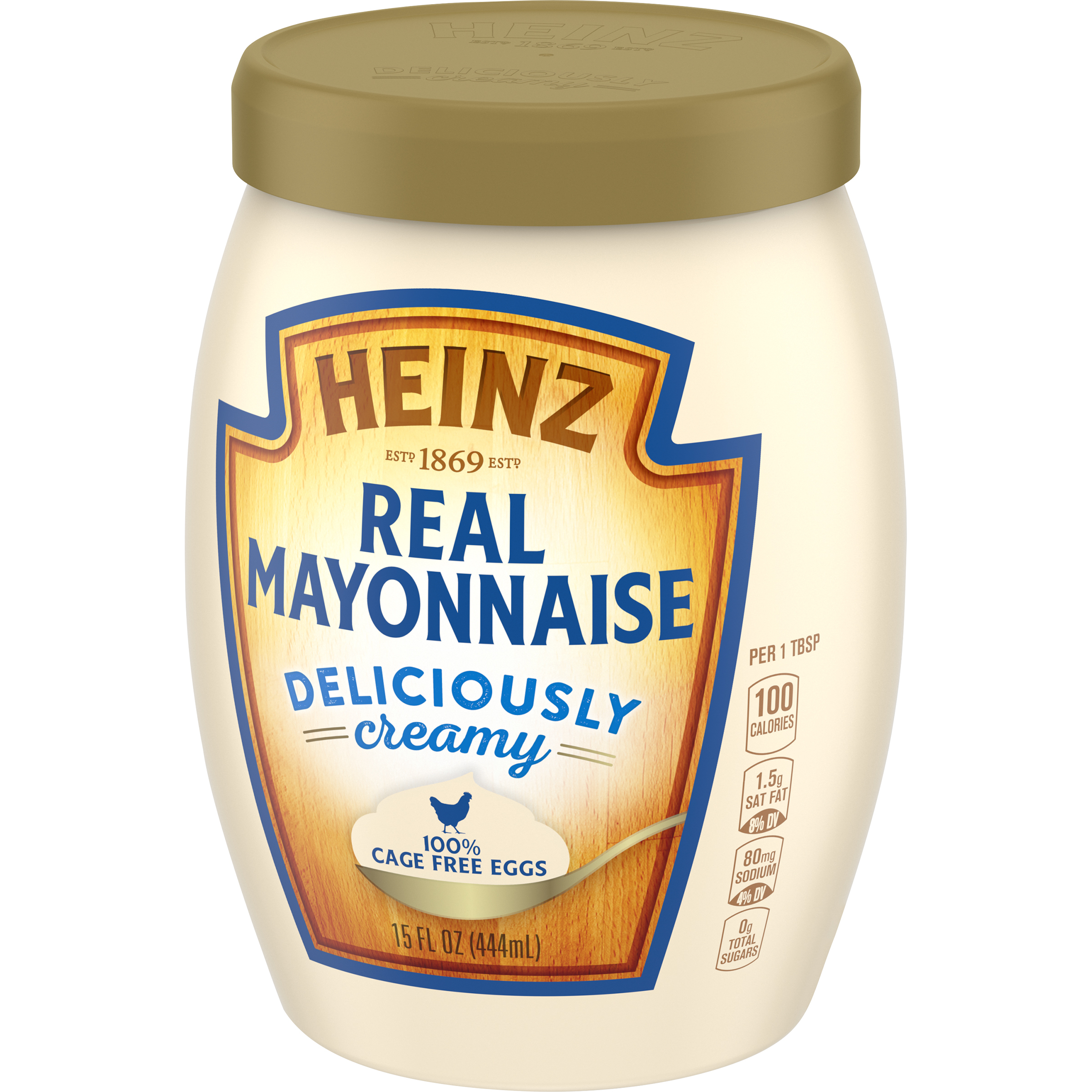 Heinz Real Mayonnaise - 100% Cage Free Eggs (15 oz.)