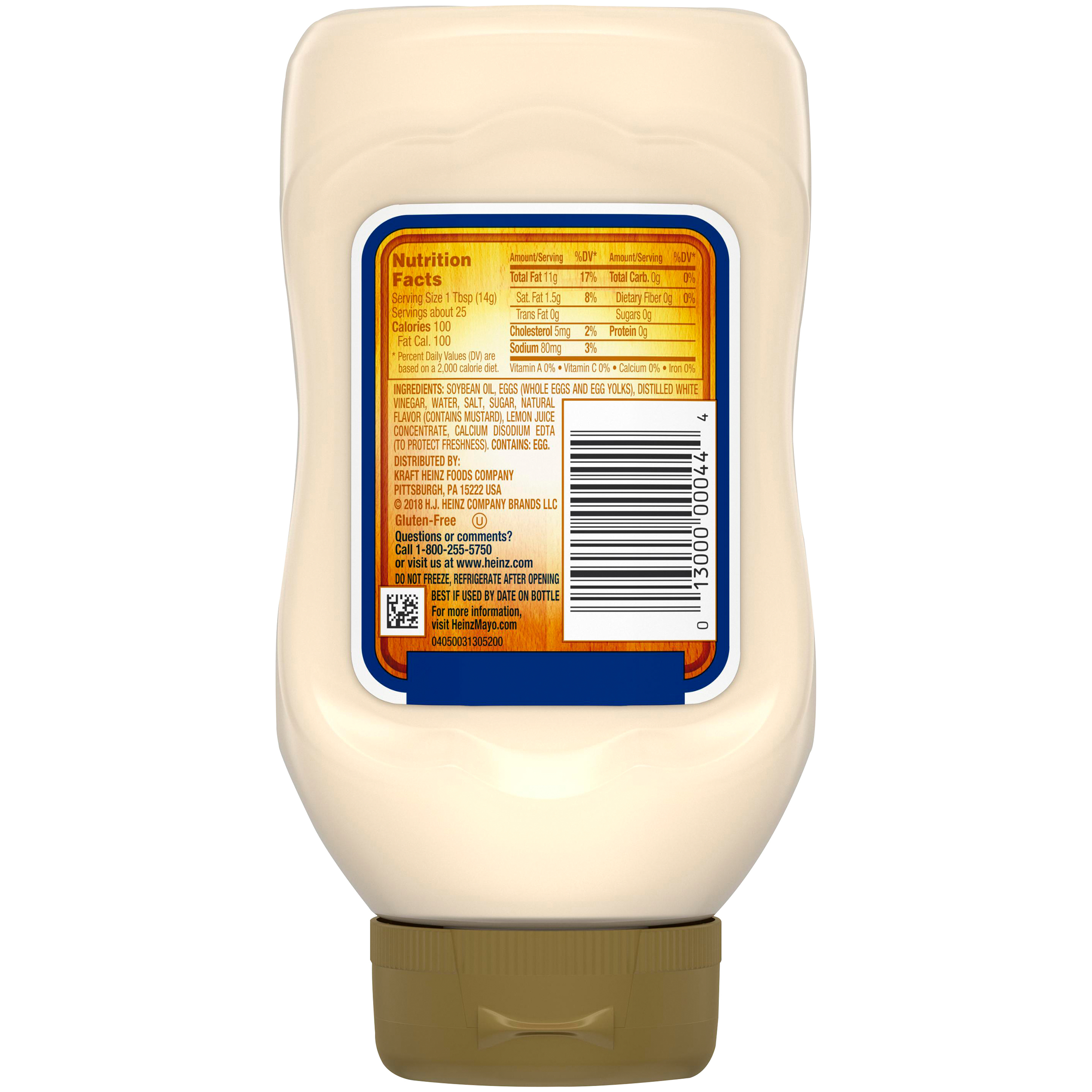 Heinz Real Mayonnaise - 100% Cage Free Eggs (13 oz.)