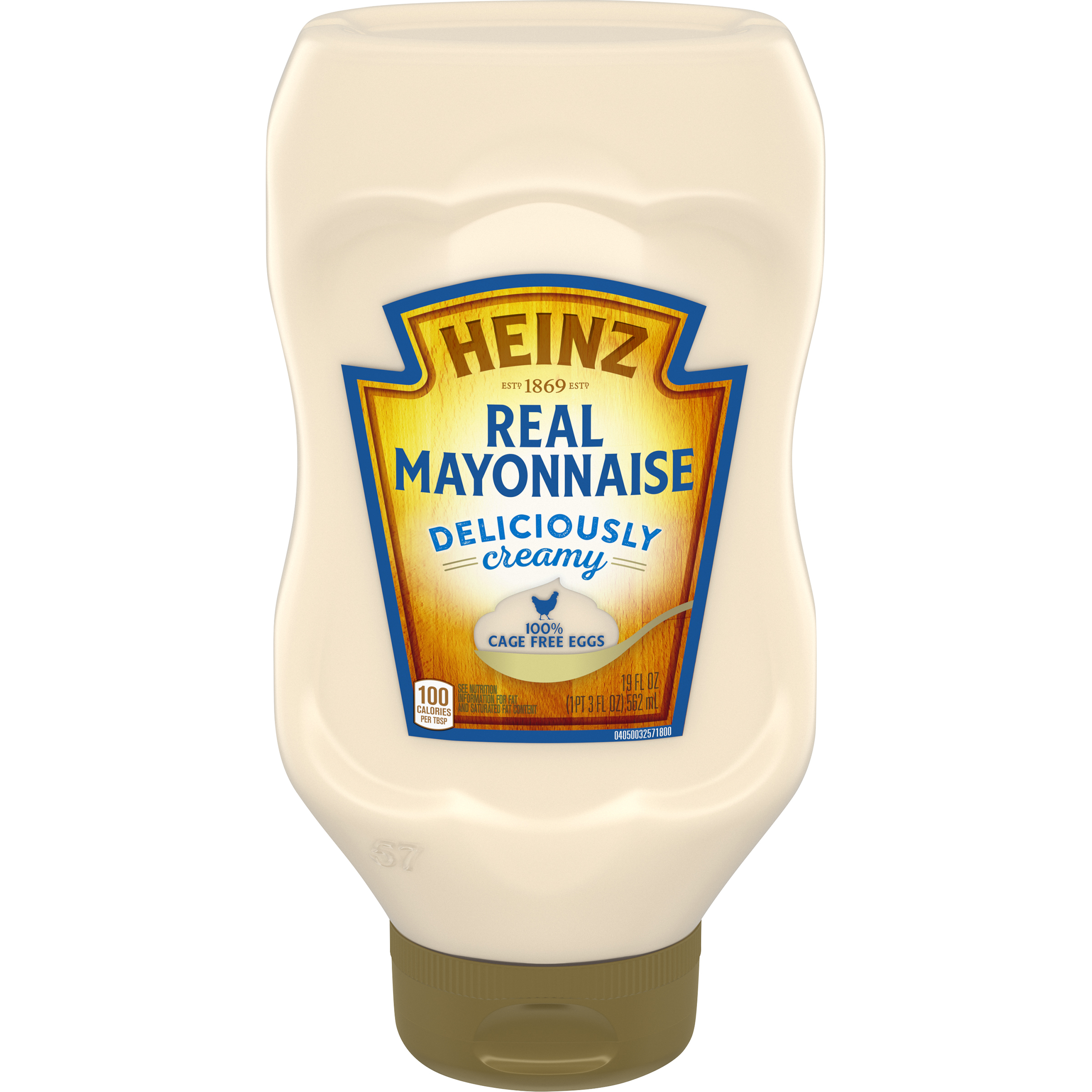 Heinz Real Mayonnaise - 100% Cage Free Eggs (19 oz.) image
