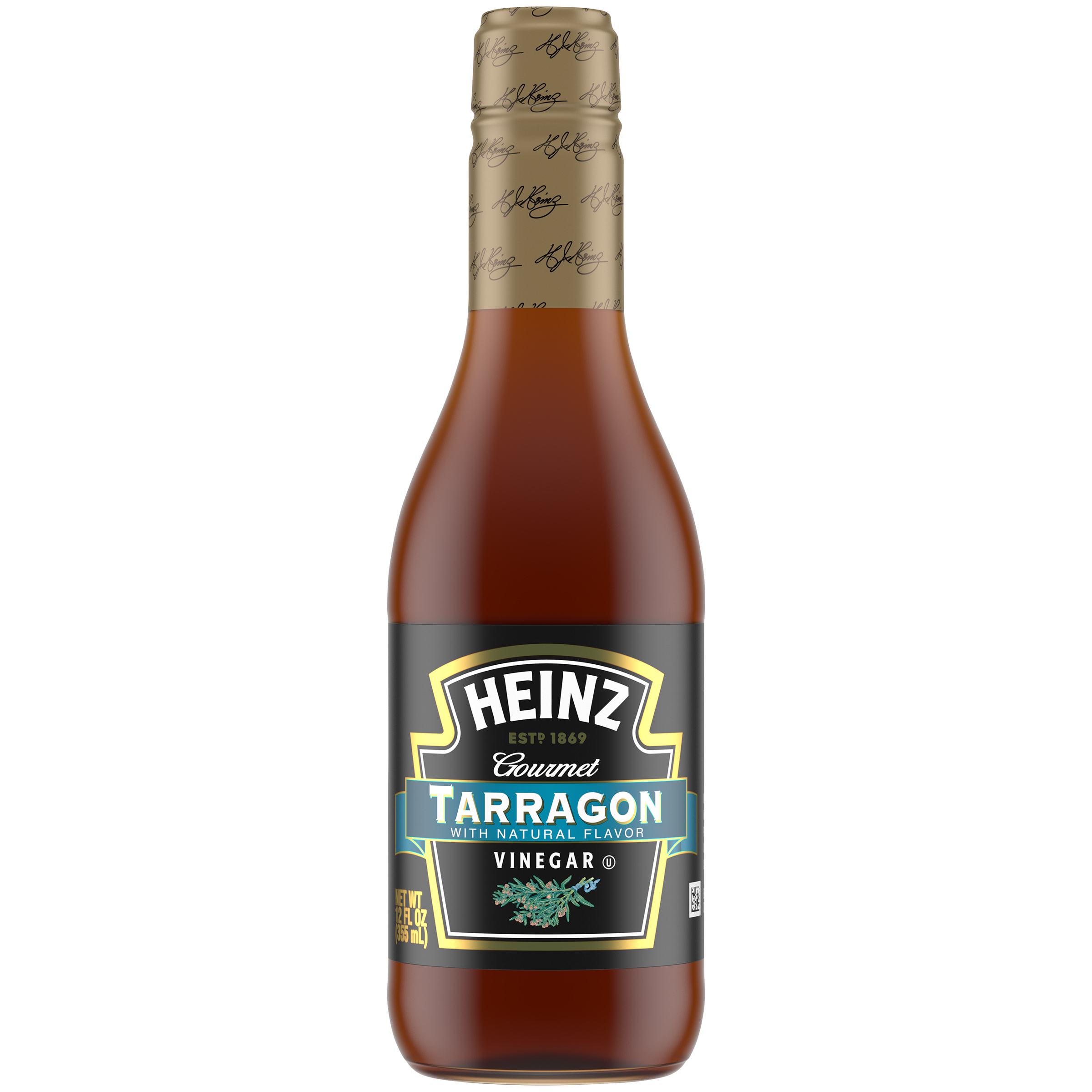 Heinz Gourmet Tarragon Vinegar 12 fl oz Bottle