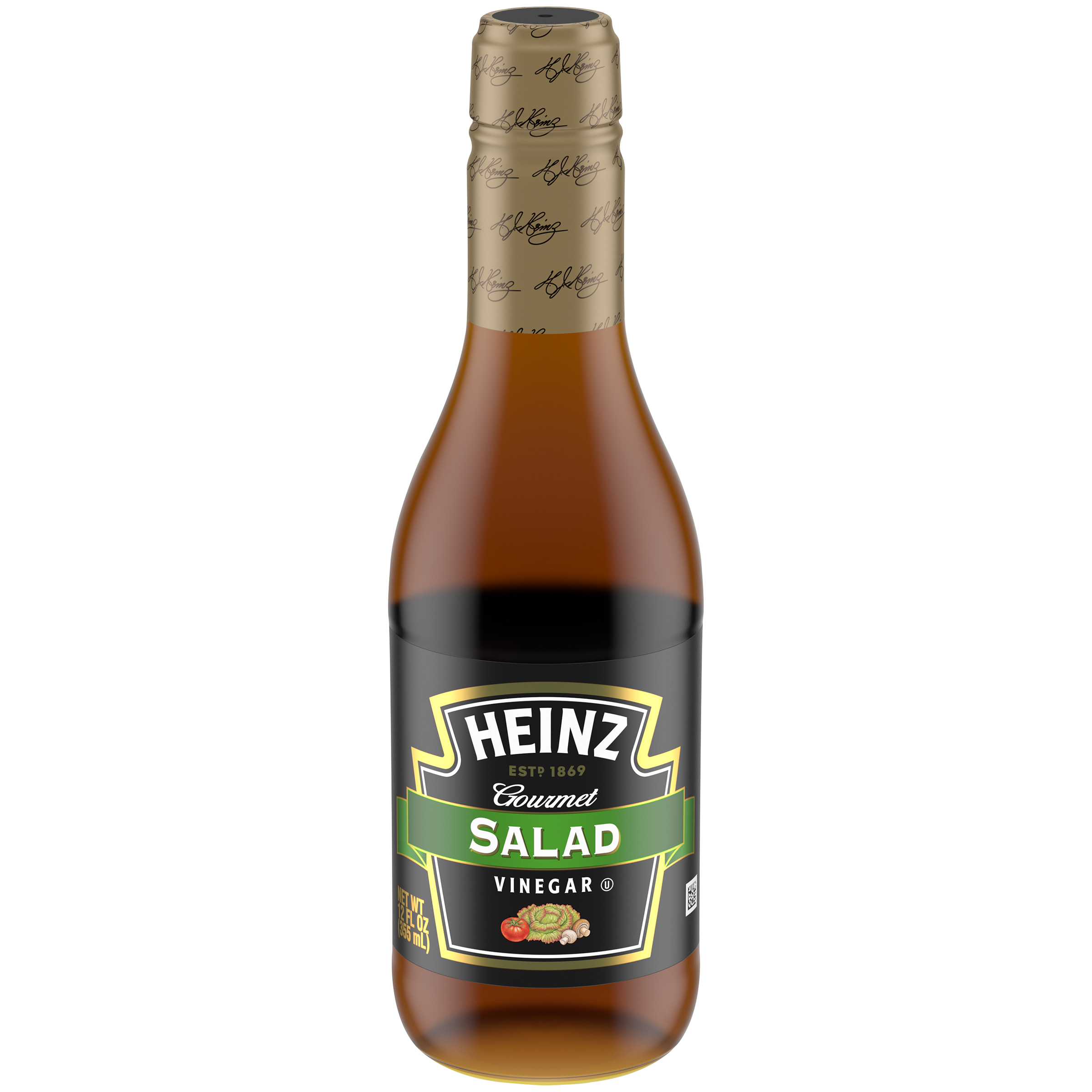 Heinz Gourmet Salad Vinegar 12 fl oz Bottle image