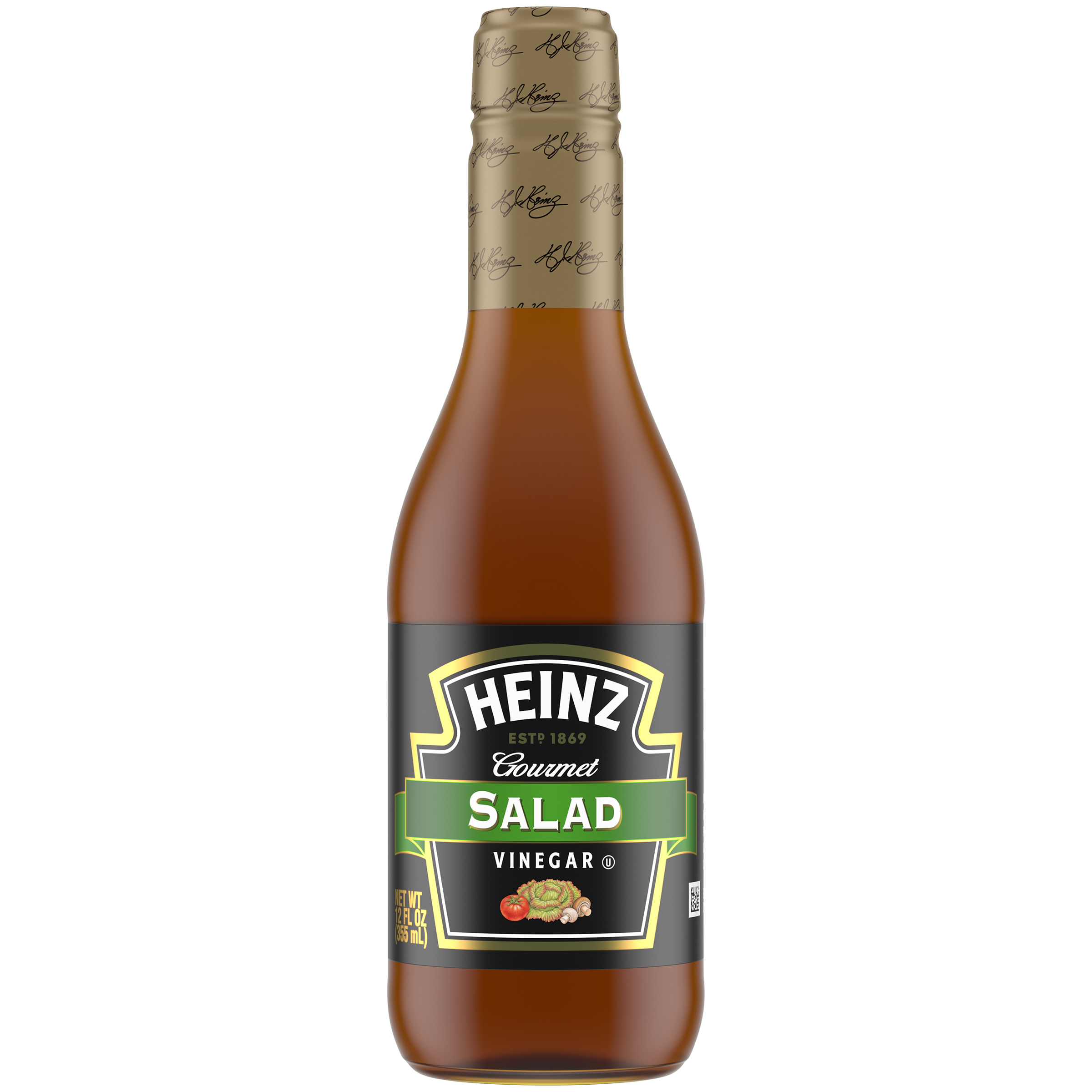 Heinz Gourmet Salad Vinegar 12 fl oz Bottle