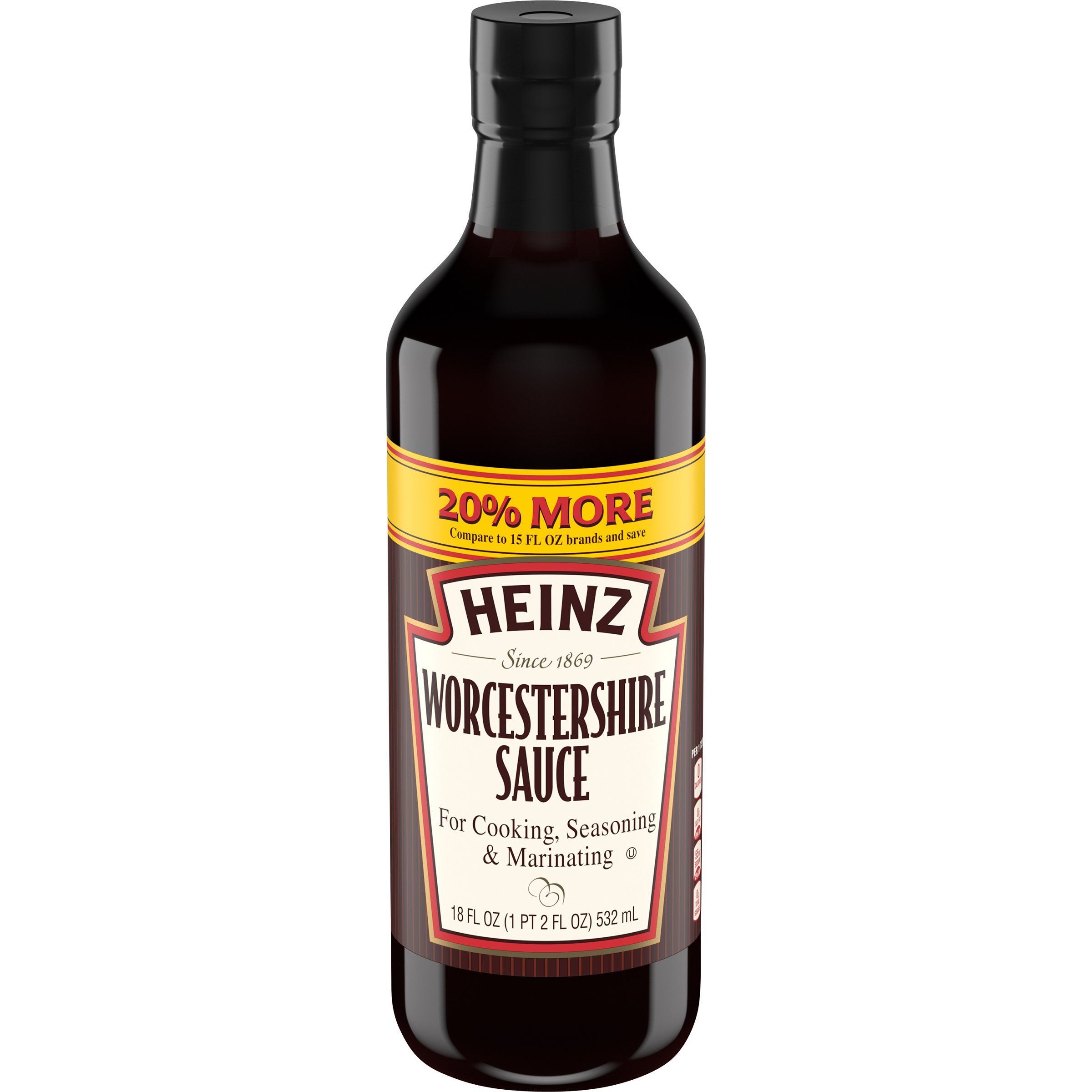 Heinz Worcestershire Sauce 18 fl oz Bottle image