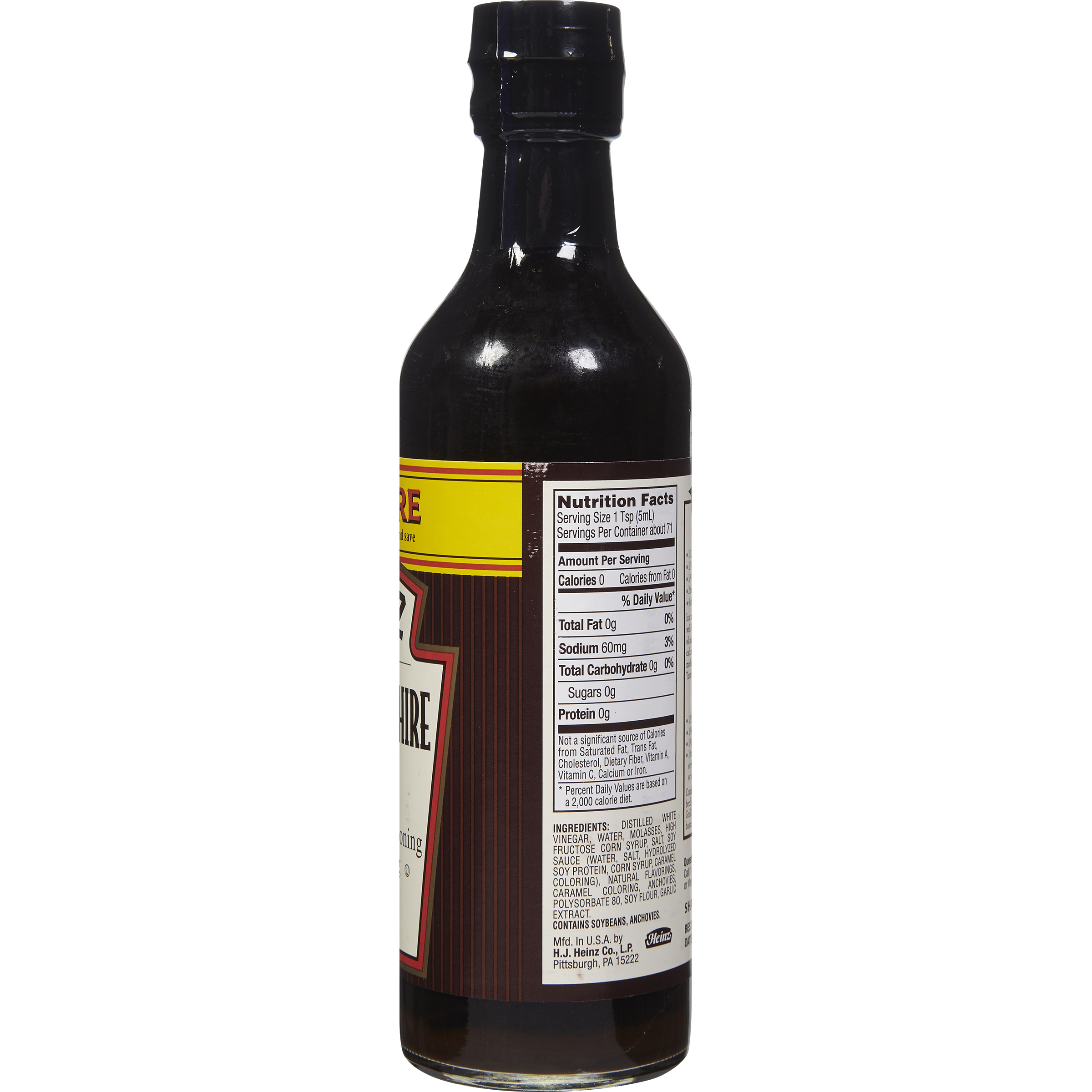 Heinz  Worcestershire Sauce 12 Oz Glass Bottle