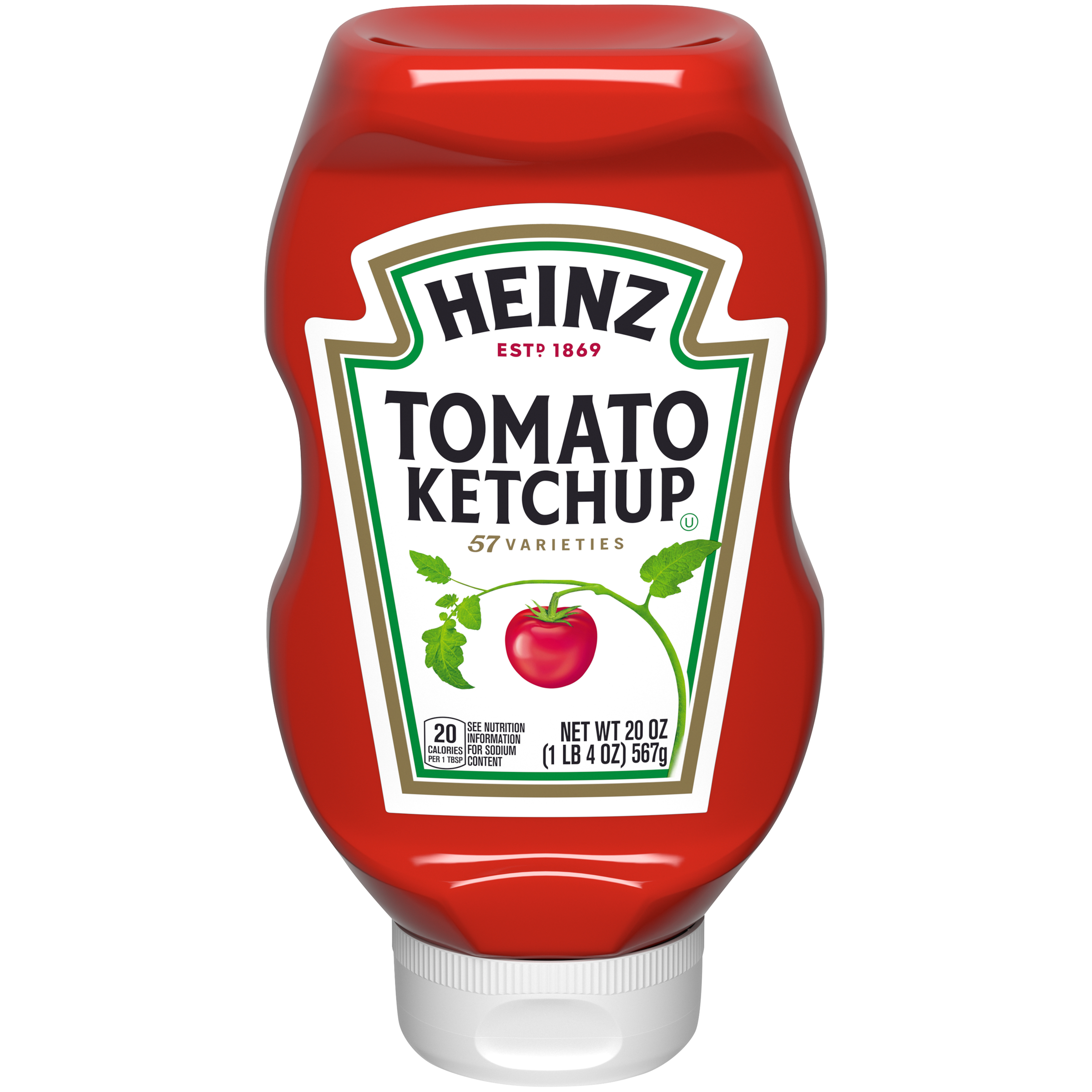 Heinz Tomato Ketchup 20 oz Squeeze Bottle image