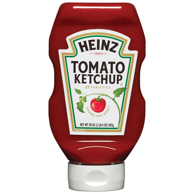 Heinz Tomato Ketchup 20 oz Squeeze Bottle