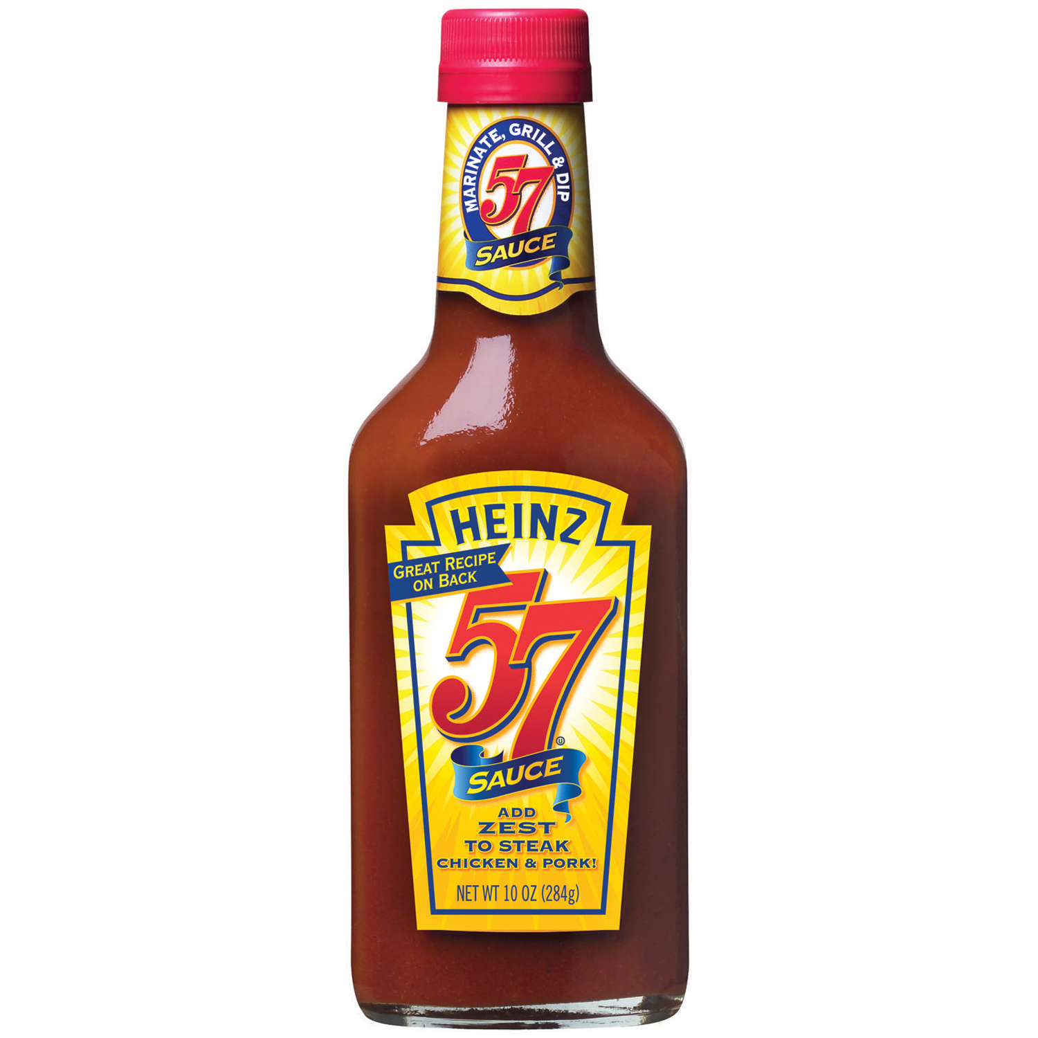 Heinz 57 Steak Sauce 10 Oz Glass Bottle image