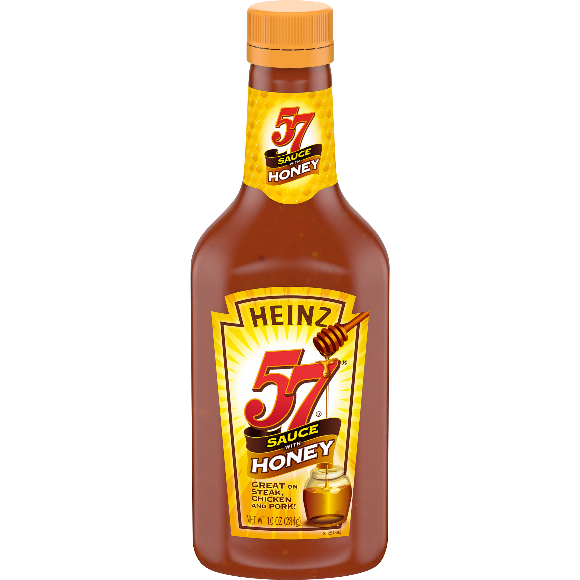 Heinz 57 W/Honey Sauce 10 Oz Bottle image