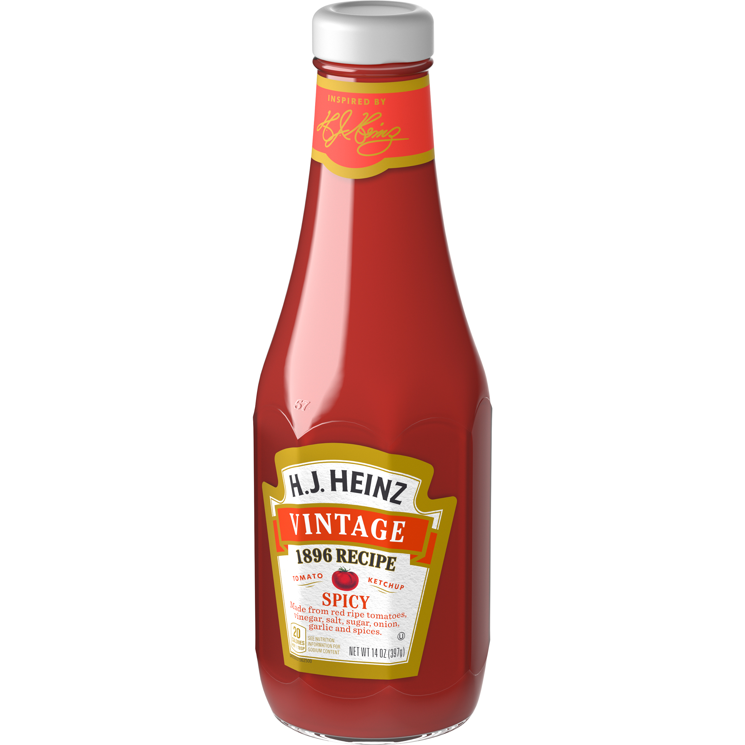 Vintage 1896 Spicy Ketchup (14 oz. glass bottle)