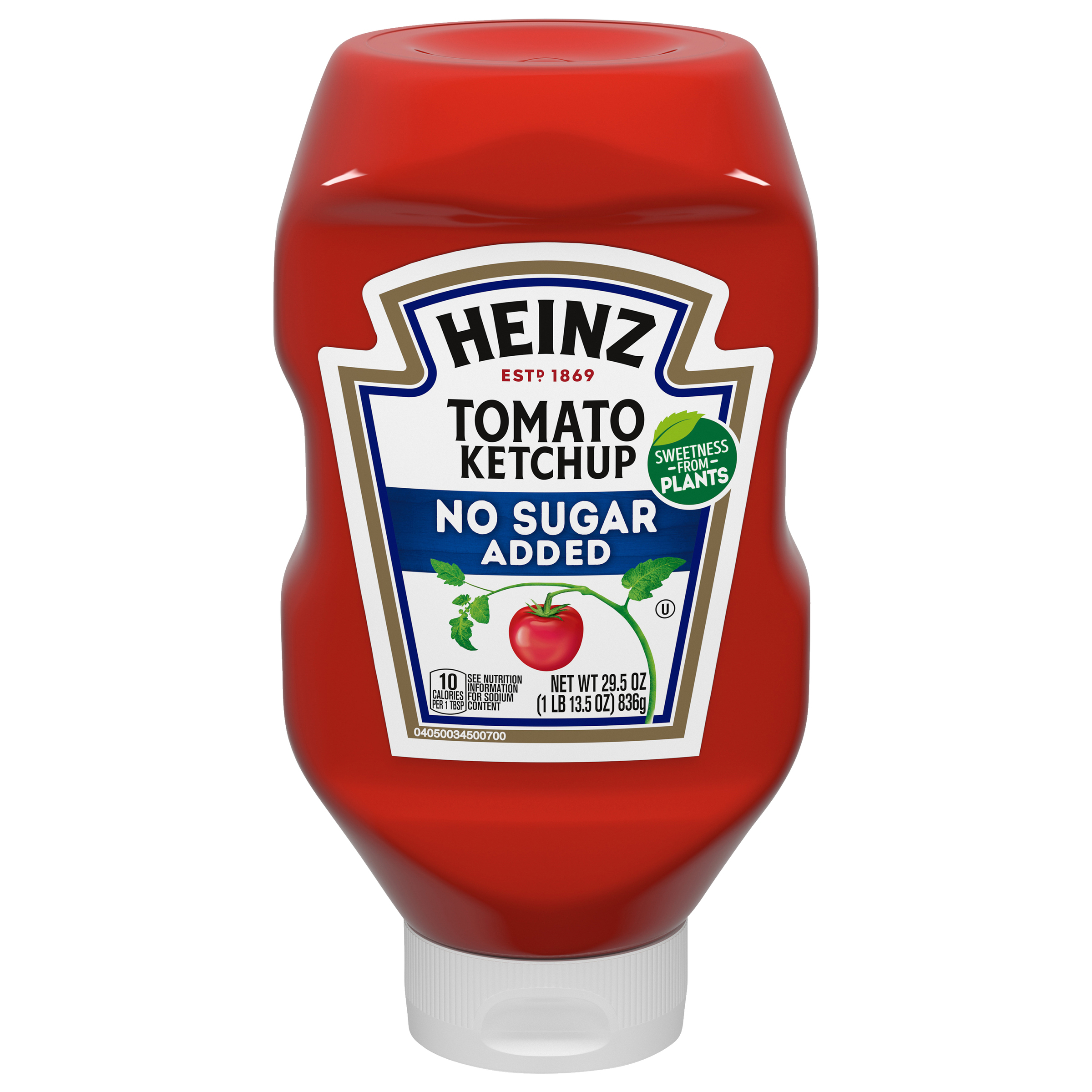 Heinz No Sugar Added Ketchup (29.5 oz.) image