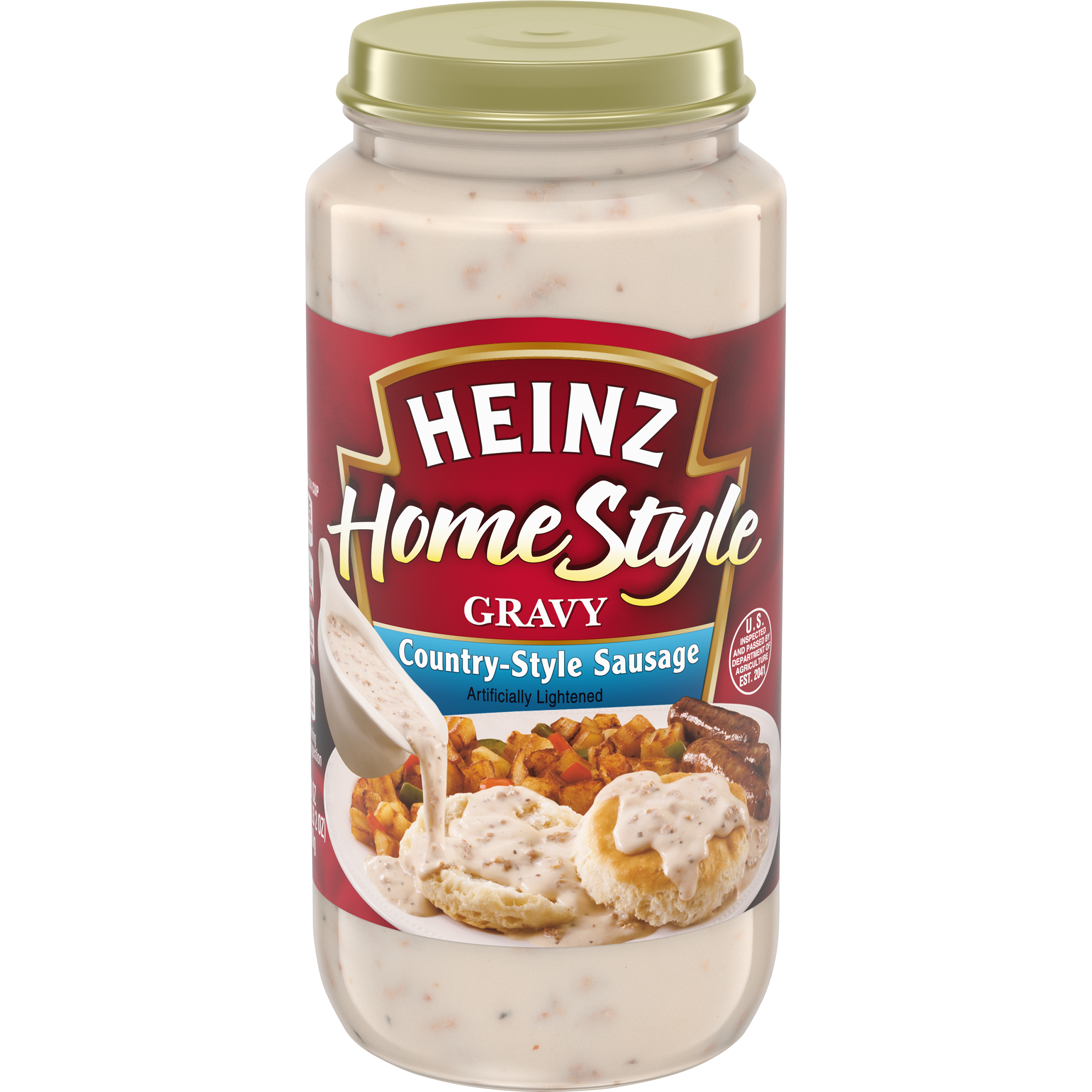 Heinz Home Style Country-Style Sausage Gravy 18 oz Jar image