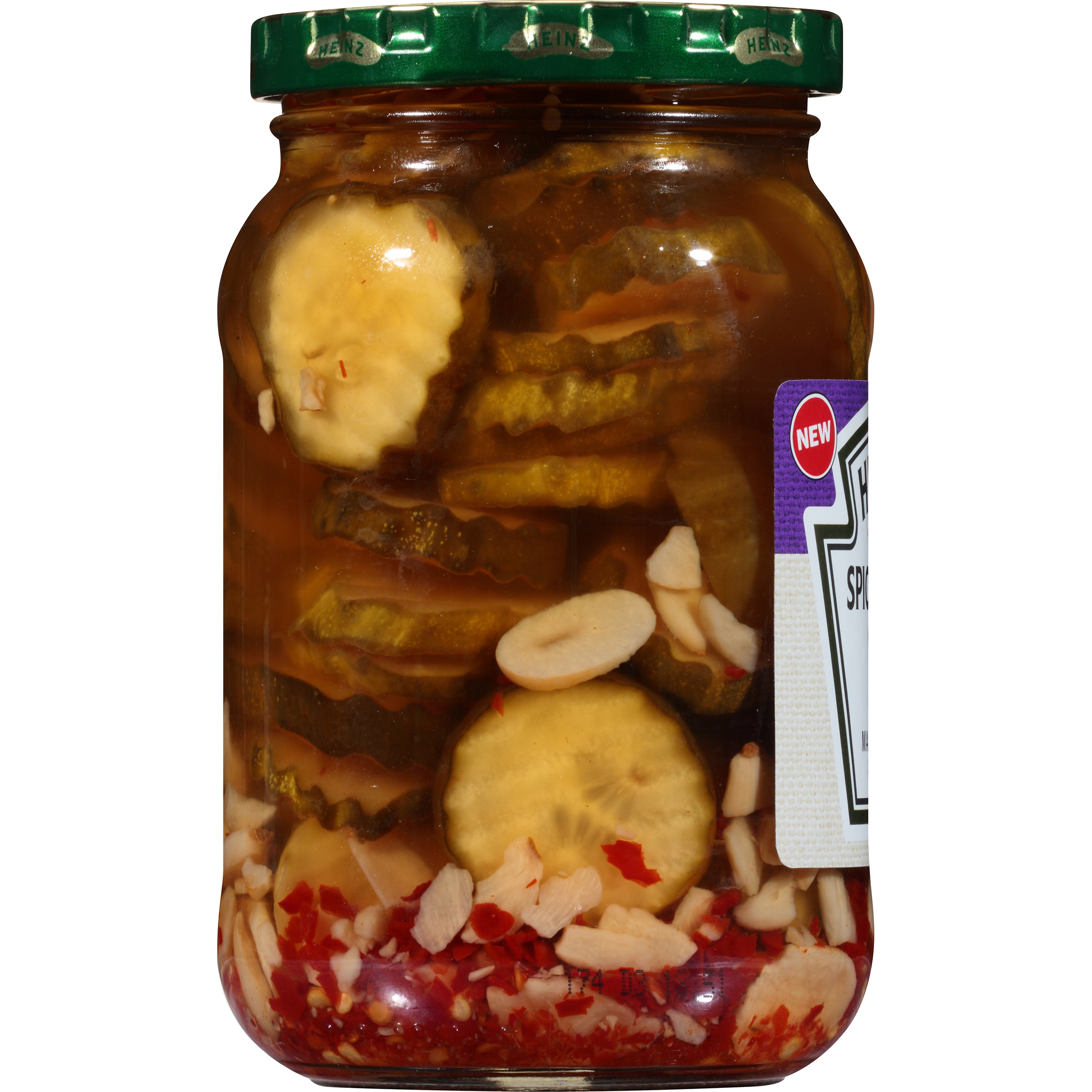 Heinz Spicy Garlic Chips 16 fl oz Jar