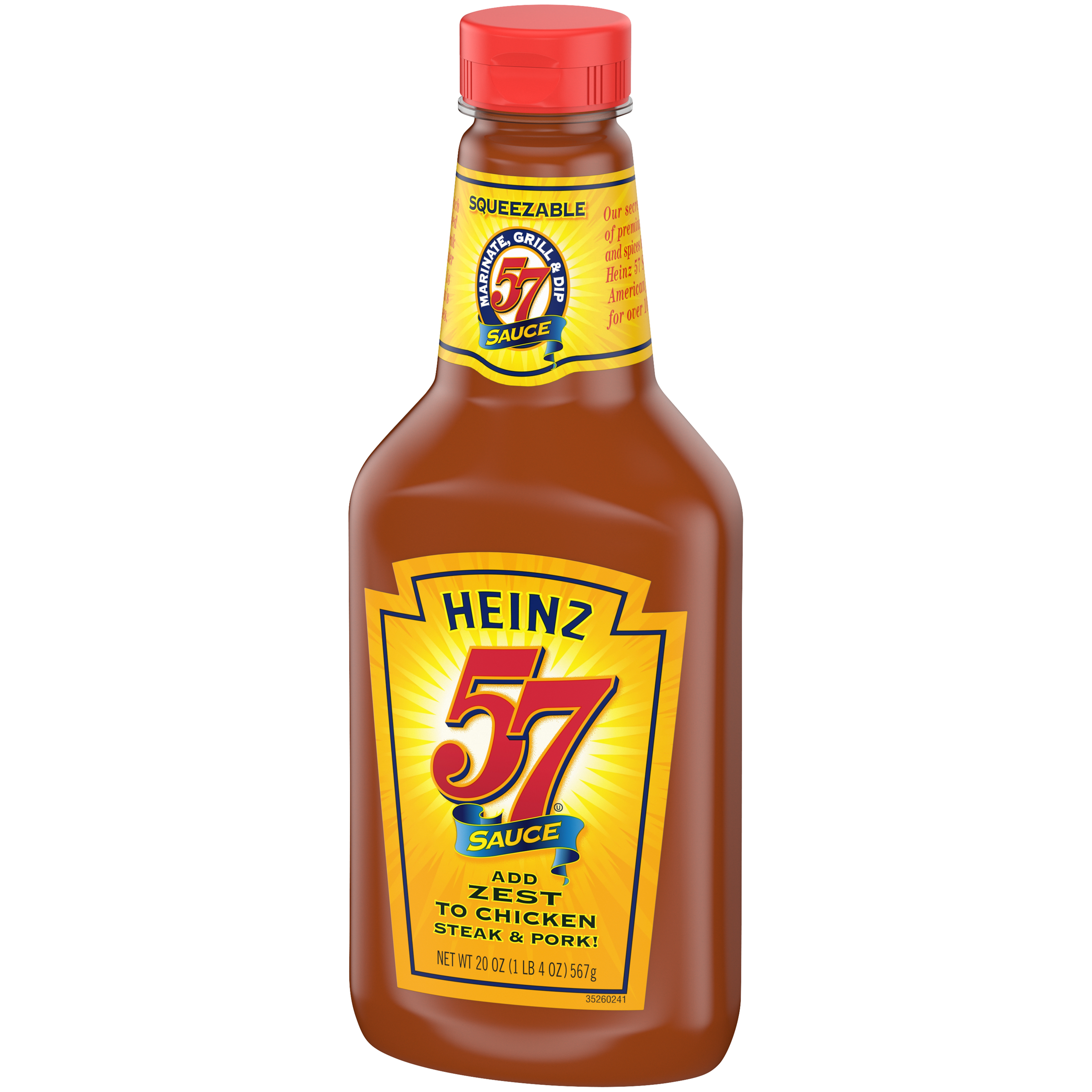 Heinz 57  Steak Sauce 20 Oz Plastic Bottle