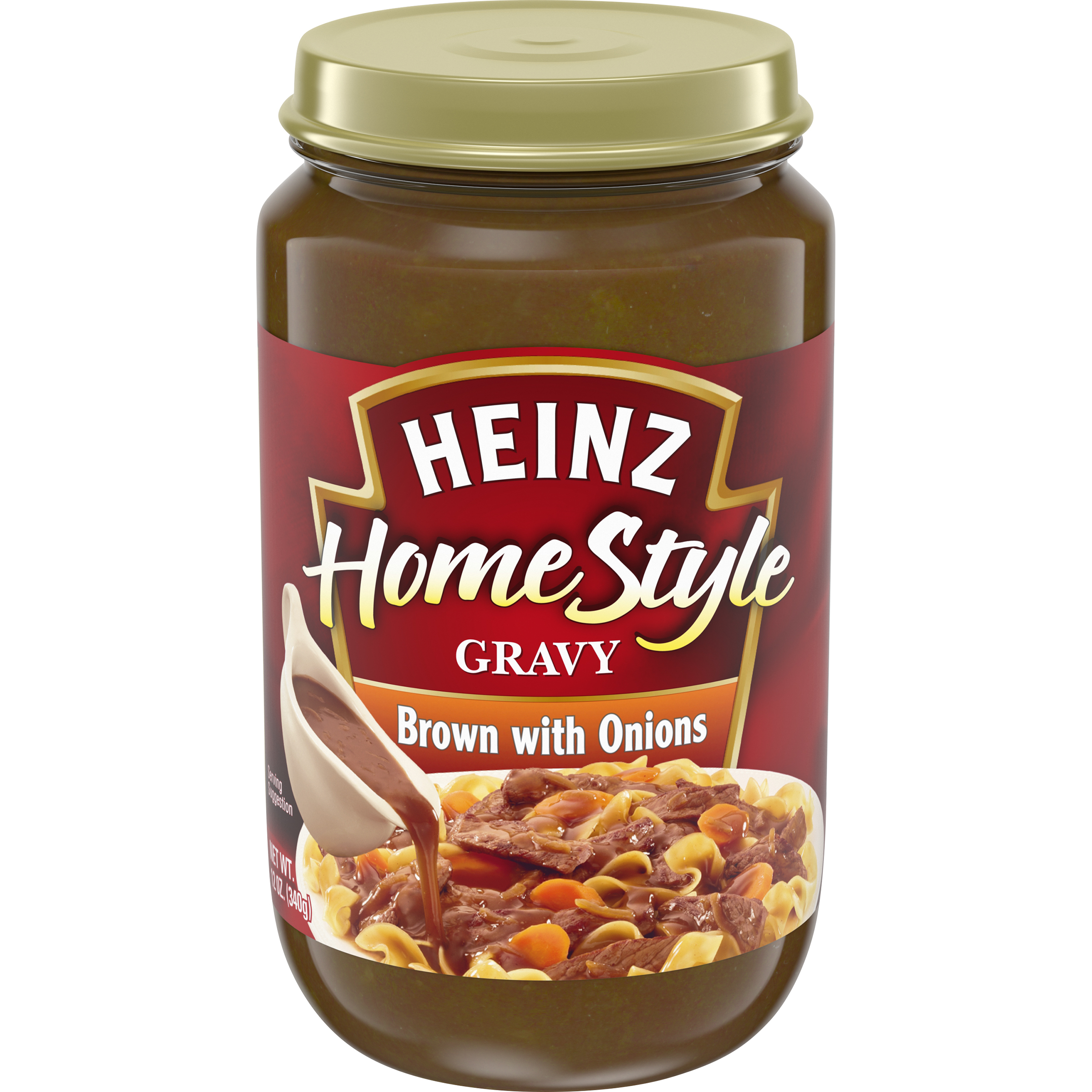 Heniz(r) Home Style Brown with Onions Gravy 12 oz. Box image