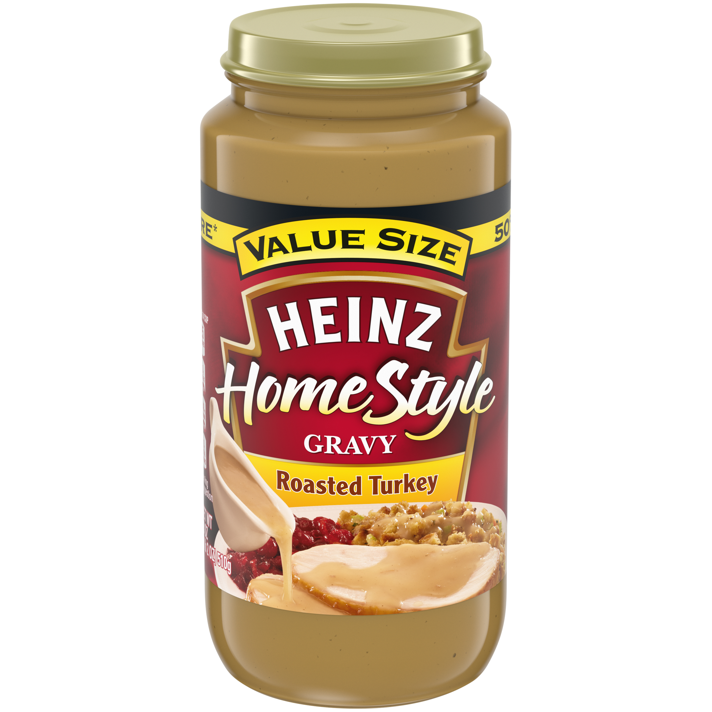 Heinz HomeStyle Roasted Turkey Gravy 18 oz. Jar image