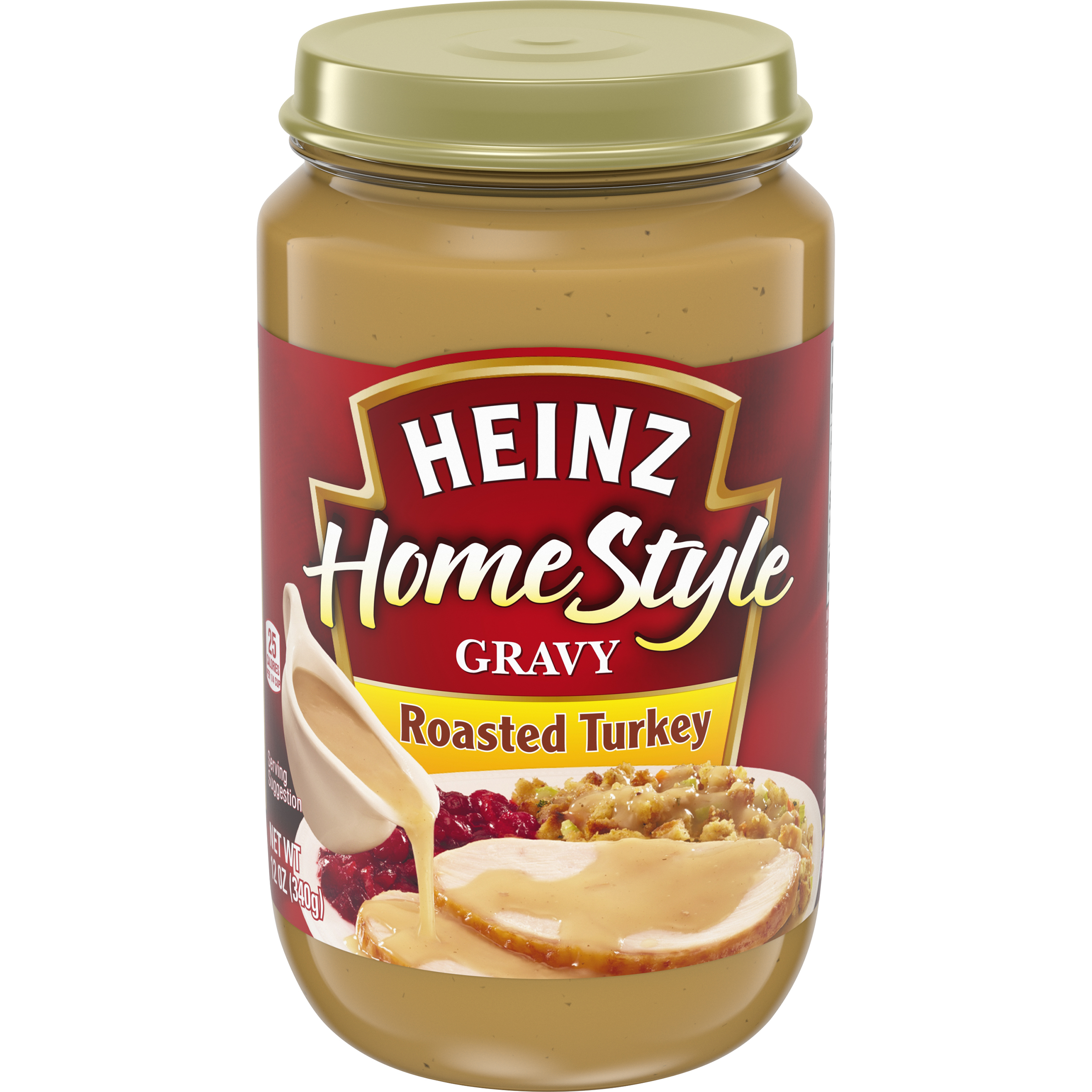 Heinz Home Style Roasted Turkey Gravy 12 oz Jar image
