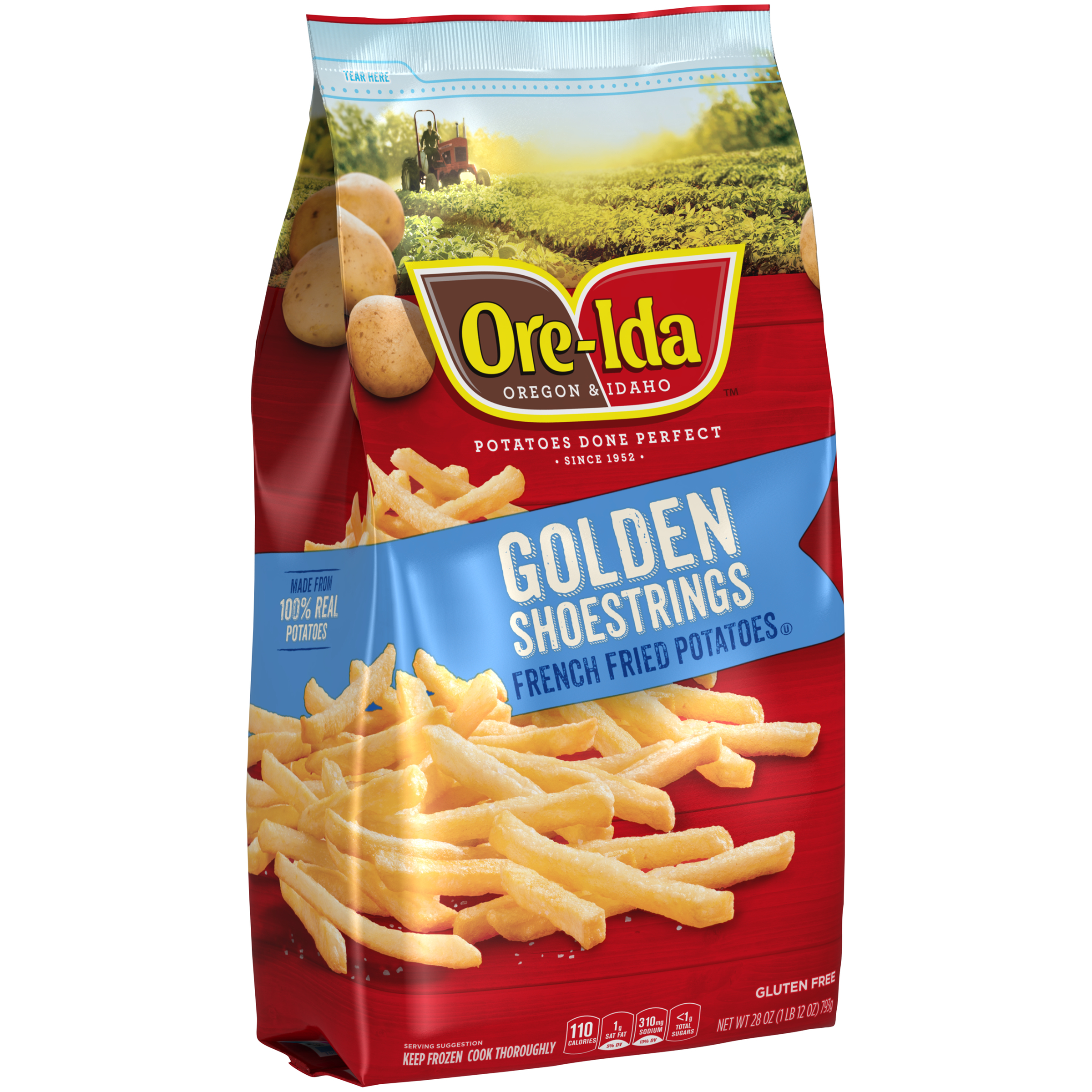 Golden Shoestring French Fries   ORE-IDA