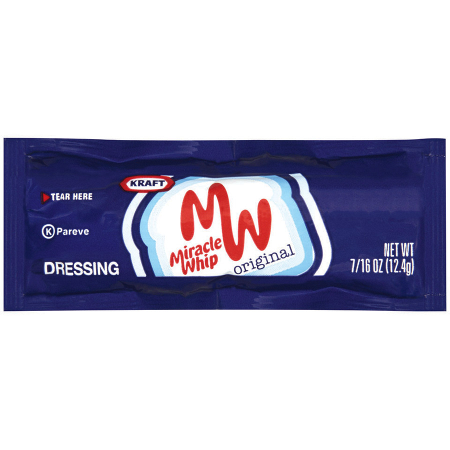 Miracle Whip Dressing Packet, 16 oz. image