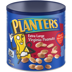 PLANTERS Extra Large Virginia Peanuts 52 oz Can