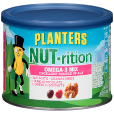 PLANTERS NUT-rition Omega-3 Mix 9.25 oz Can