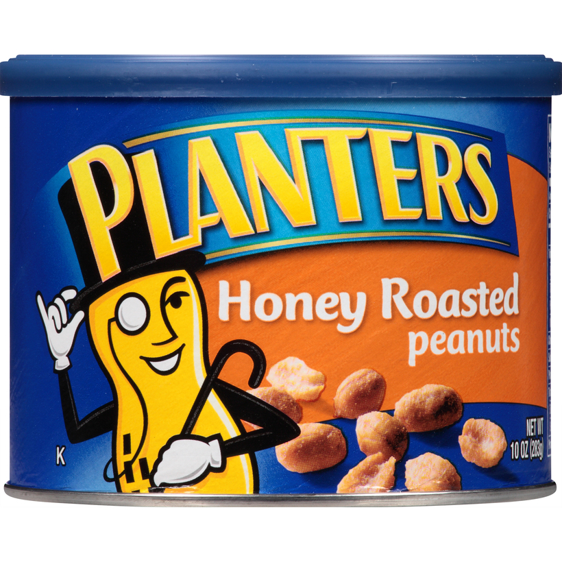 PLANTERS Honey Roasted Peanuts 10 oz Can
