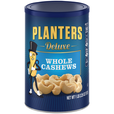 PLANTERS Deluxe Whole Cashews 18.25 oz Can image