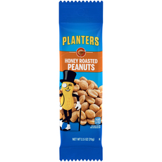 PLANTERS Honey Roasted Peanuts 2.5 oz Bag