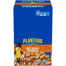 Planters Honey Roasted Peanuts 15-2.5 oz Packs image