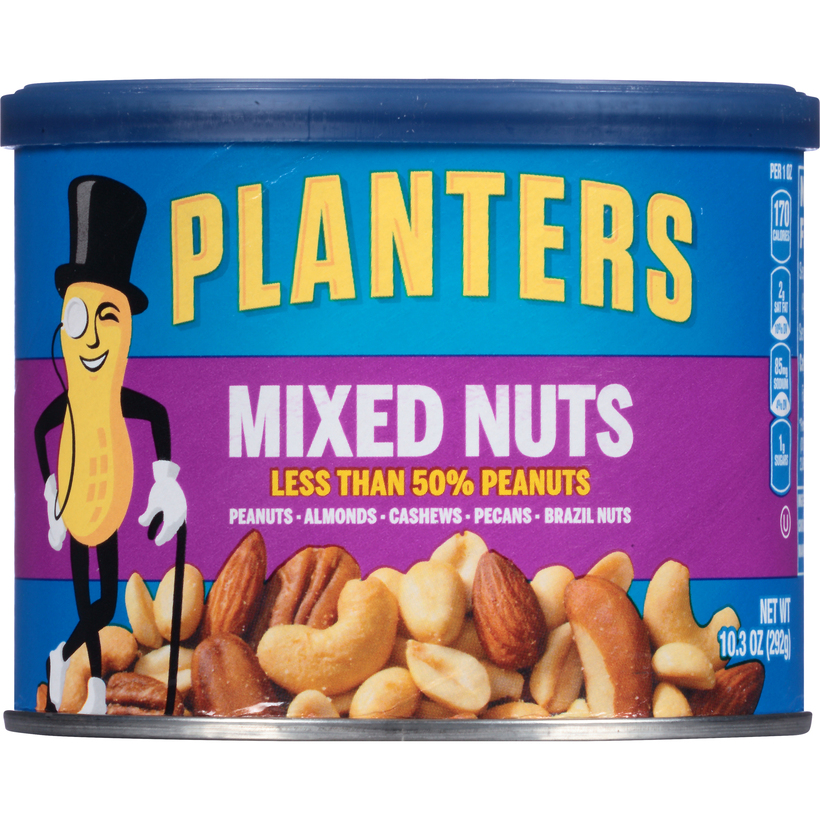 PLANTERS Mixed Nuts 10.3 oz Can