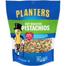 PLANTERS Dry Roasted Pistachios 12.75 oz Bag