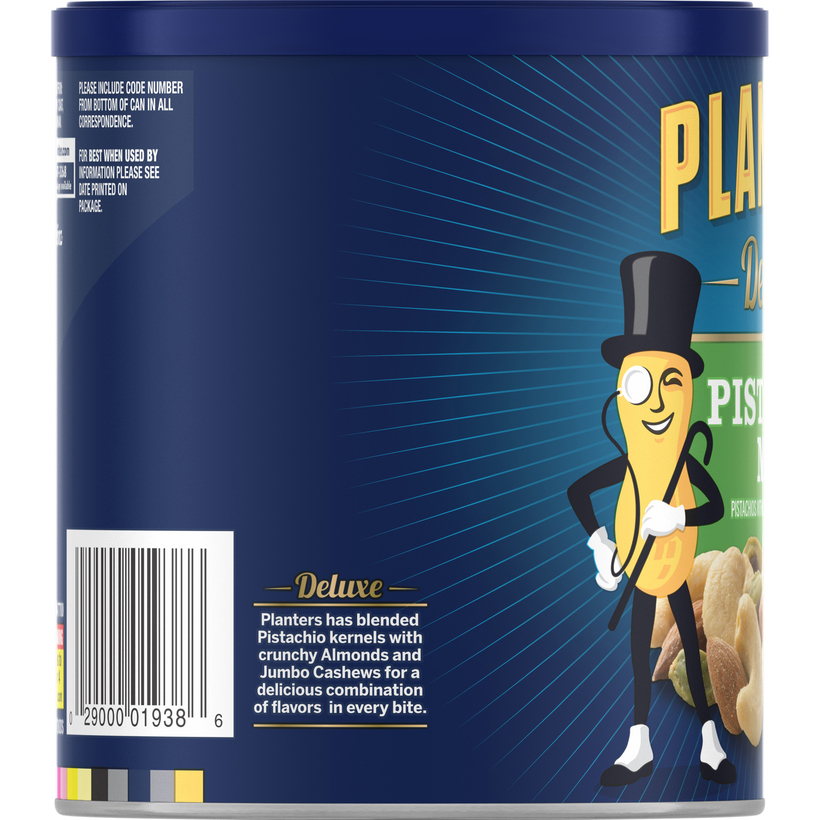 PLANTERS Deluxe Pistachio Mix 14.5 oz Can
