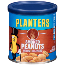 PLANTERS Smoked Peanuts 6 oz Can