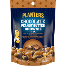 PLANTERS Chocolate Peanut Butter Brownie Mix 6.5 oz Pouch image