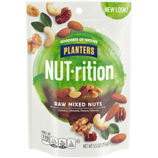 PLANTERS Raw Mixed Nuts 5.5 oz Bag