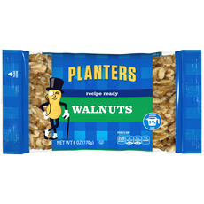 PLANTERS Halves Walnuts 6 oz Bag