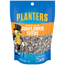 PLANTERS Roasted & Salted Sunflower Seeds 7 oz Bag image
