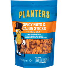 PLANTERS Trail Mix Spicy Nuts & Cajun Sticks 6 oz Bag