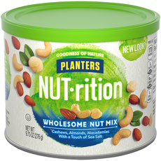 PLANTERS NUT-rition Wholesome Nut Mix 9.75 oz Can image