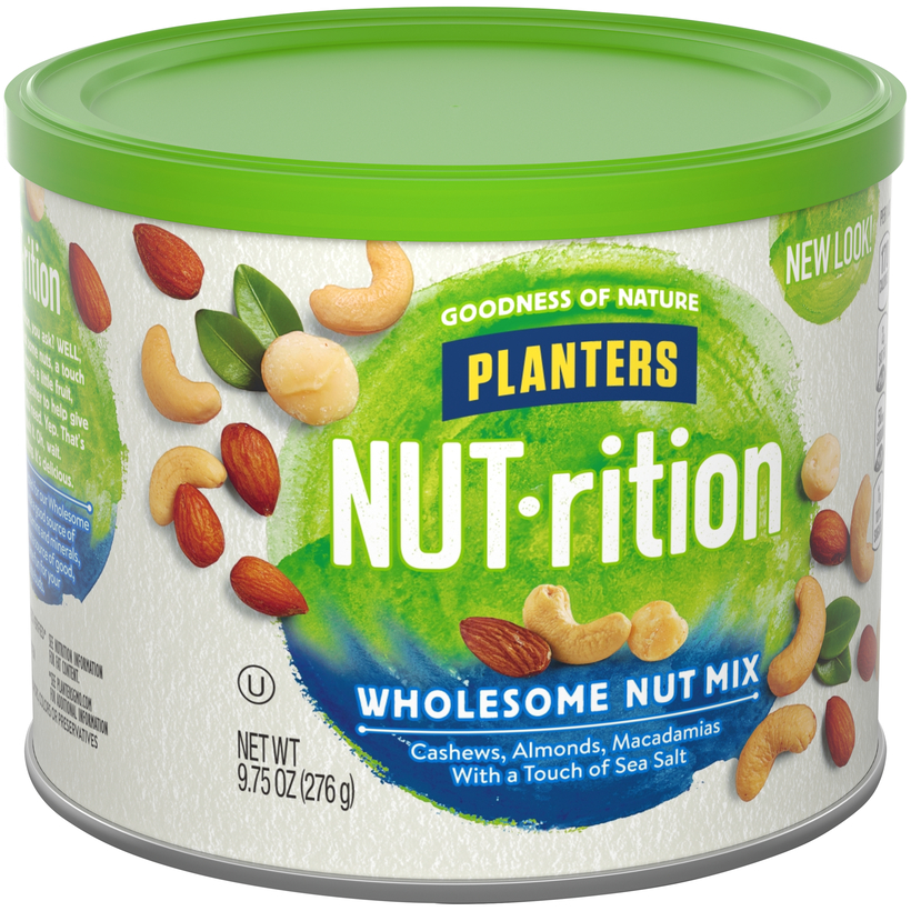 PLANTERS NUT-rition Wholesome Nut Mix 9.75 oz Can