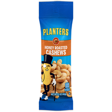 PLANTERS Honey Roasted Cashews 1.5 oz Bag