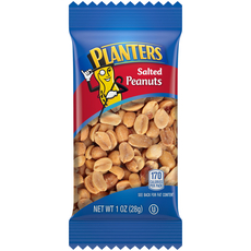 PLANTERS Salted Peanuts 1 oz Bag