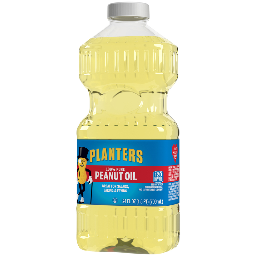 PLANTERS Peanut Oil 24 oz  Jar