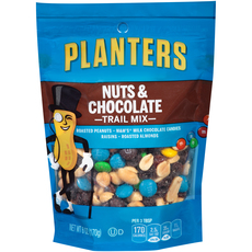 PLANTERS Trail Mix Nuts & Chocolate  6 oz Bag image