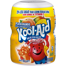 Kool-Aid Peach Mango Drink Mix 19 oz. Canister image