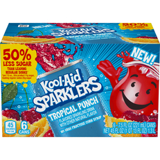 Kool Aid Sparklers Kool Aid Sparklers Tropical Punch Sparkling Drink  7.5 oz Can 6 pack image