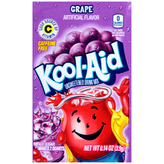 KOOL-AID Grape Drink Mix Unsweetened 0.14 oz Packet image