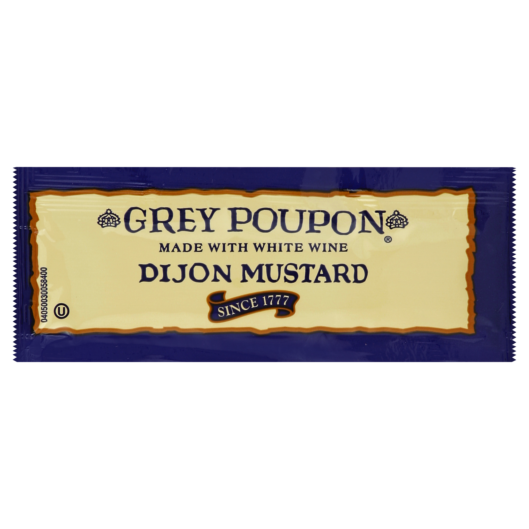 GREY POUPON Single Serve Dijon Mustard, 0.25 oz. Packets (Pack of 200)