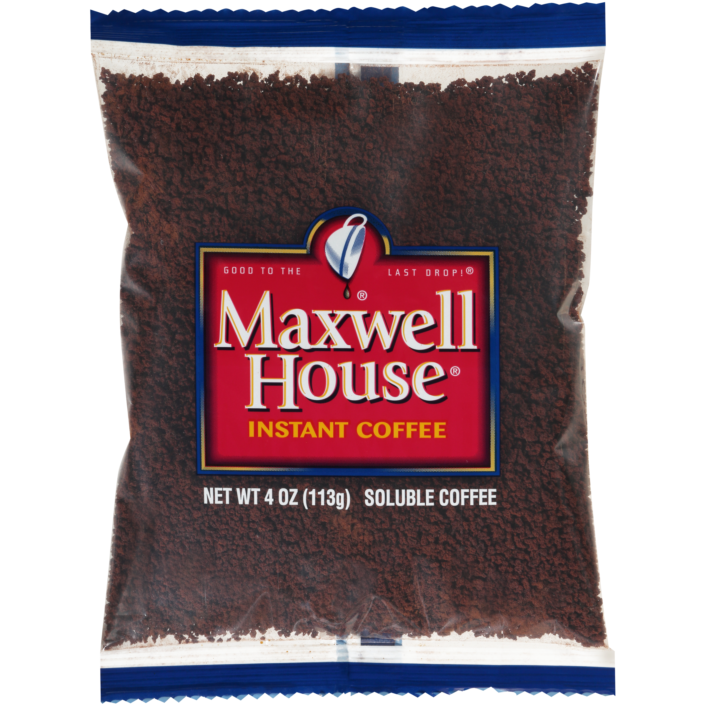 Maxwell House Instant Soluble Coffee 4 Oz Bag Pack Of 24