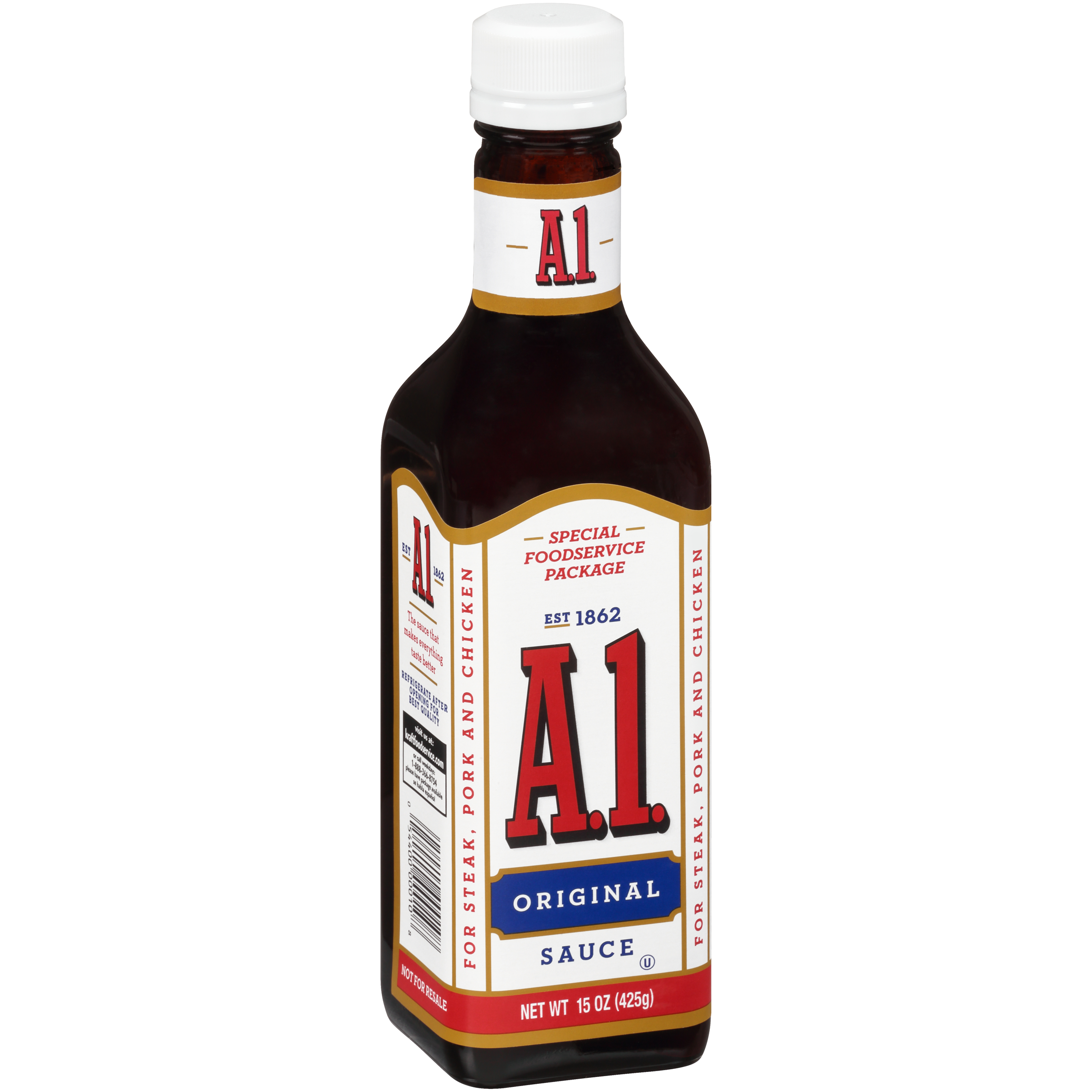 A 1 Original Sauce 12 Ct Pack 15 Oz Bottles Kraft Heinz Foodservice