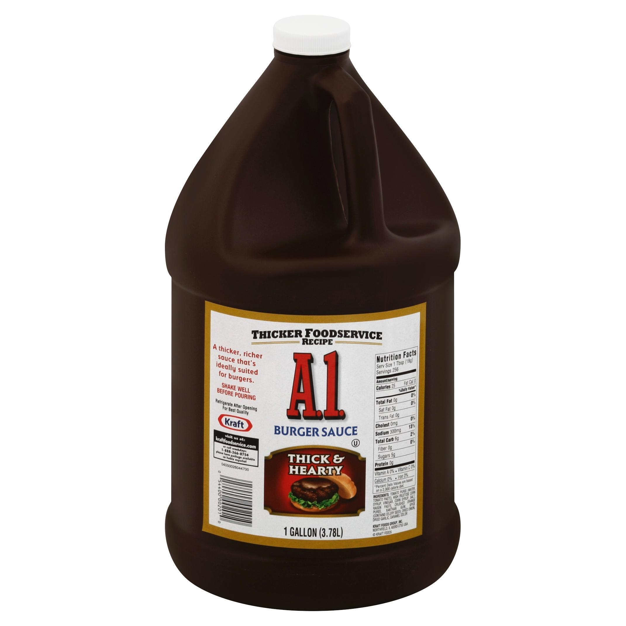 A.1. Thick & Hearty Sauce Jug, 1 gal.